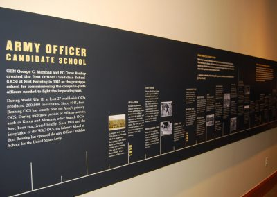 OCS Hall of Honor: Timeline