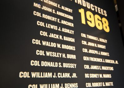 OCS Hall of Honor: Display Close-Up