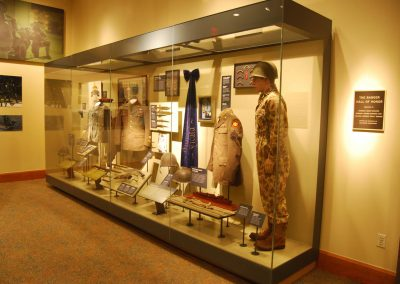 Ranger Hall of Honor: Display Case