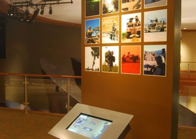 Ranger Hall of Honor: Kiosk