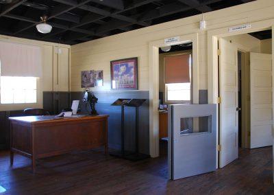 World War II Company Street: Orderly Room