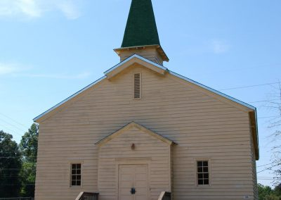 World War II Company Street: Chapel