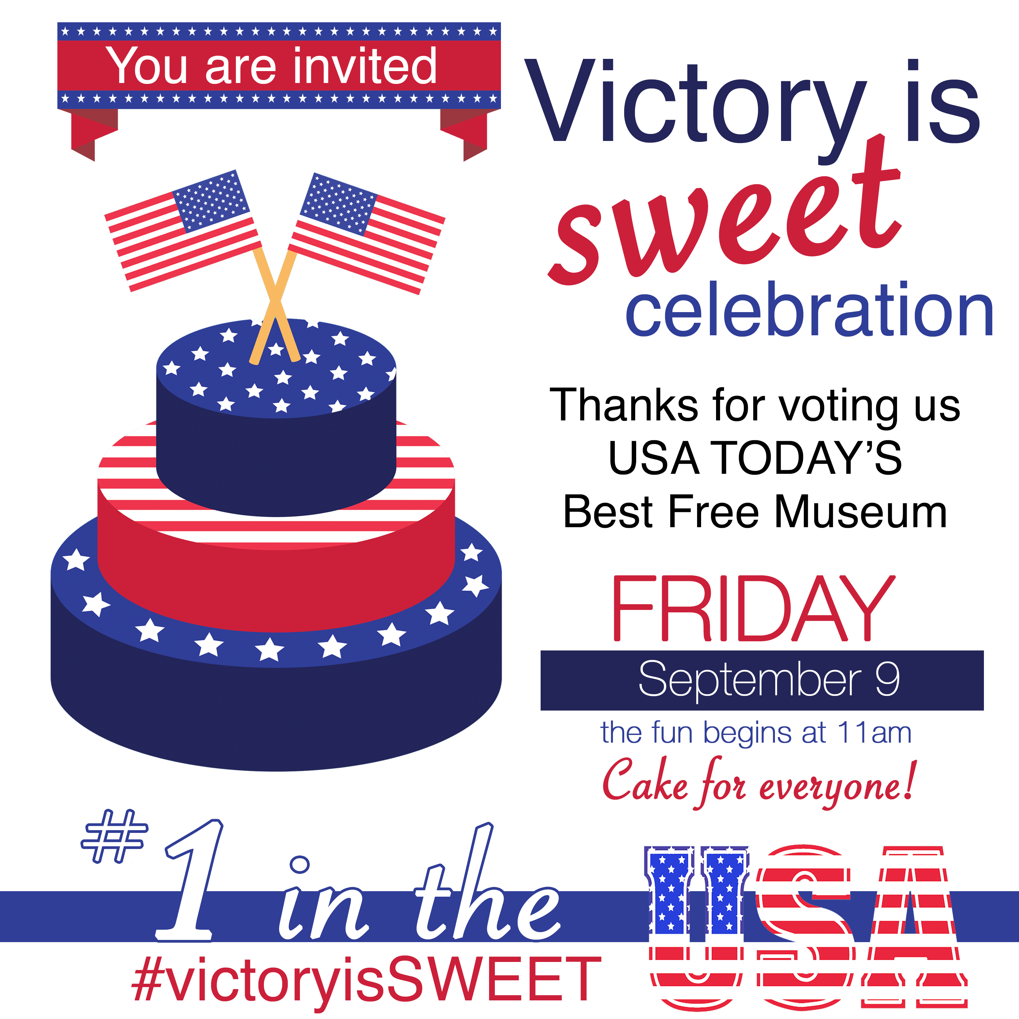 Victory Is Sweet Community Celebration National Infantry Museum - Best free museums in usa