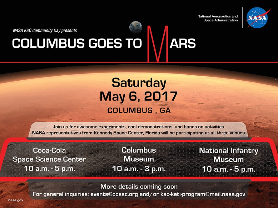 "Columbus Goes to Mars"" – a NASA Community Day"