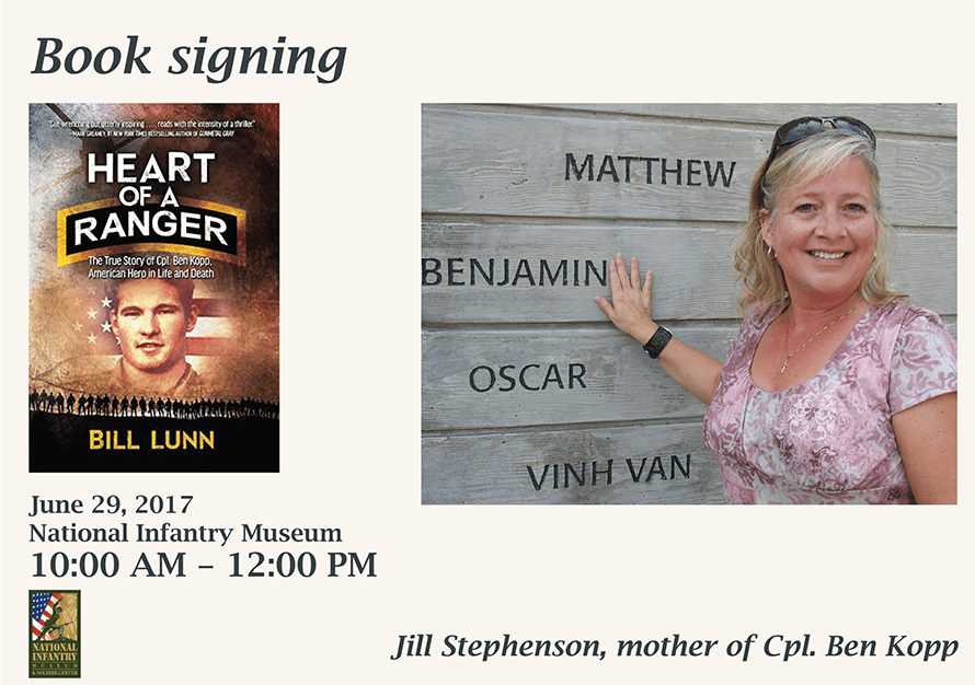 Book Signing: Heart Of A Ranger with Gold Star Mom