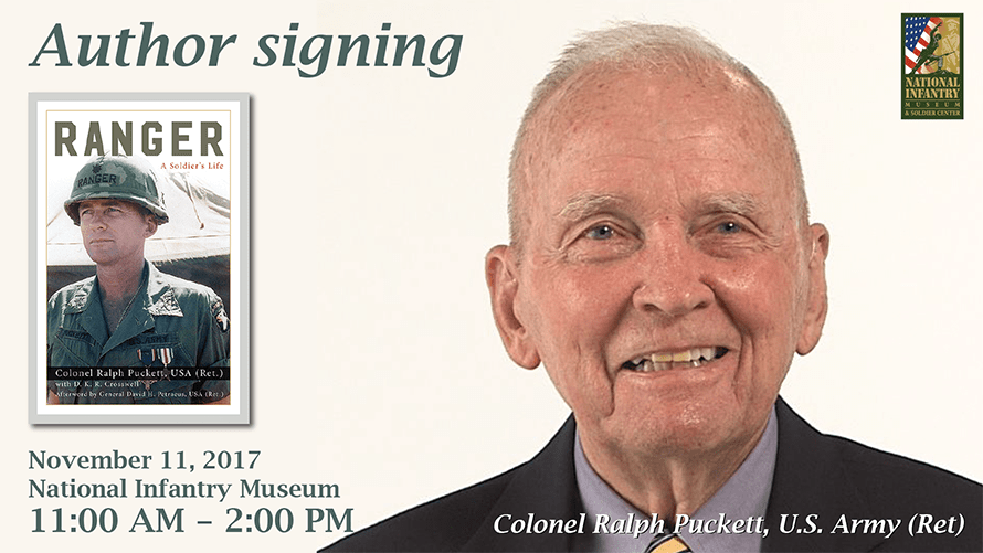 Book Signing with Author COL (Ret) Ralph Puckett