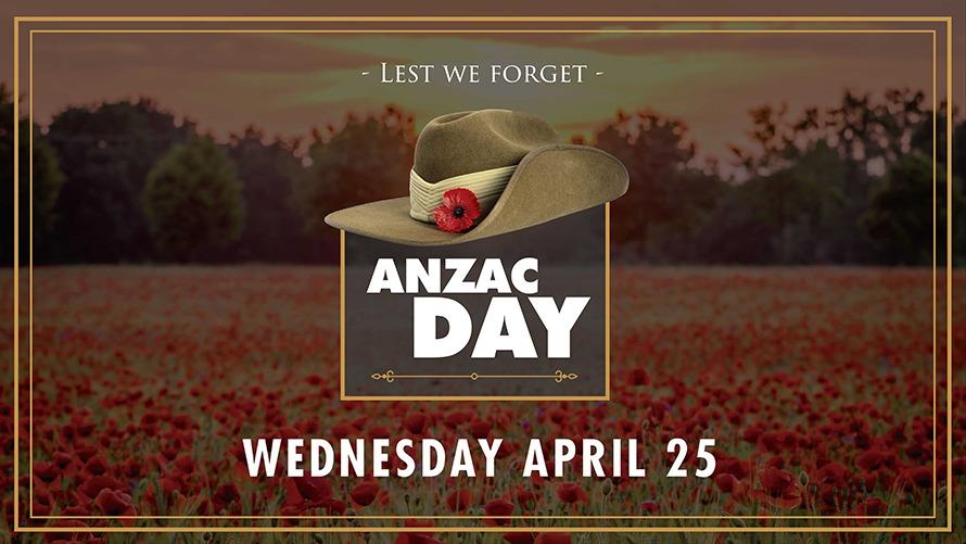 Anzac Day, 103rd Anniversary