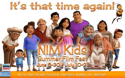 NIM Kids Summer Free Film Fest