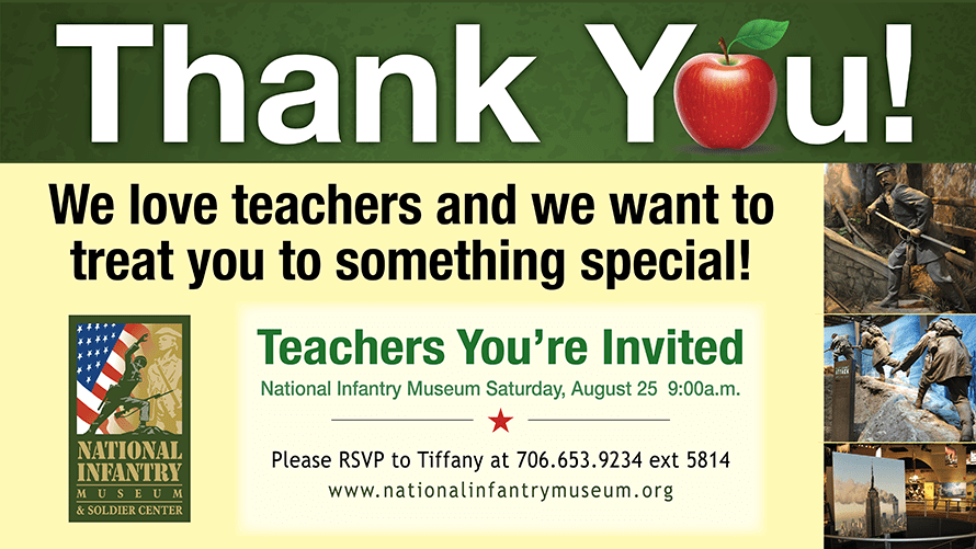 Teacher's Appreciation Event