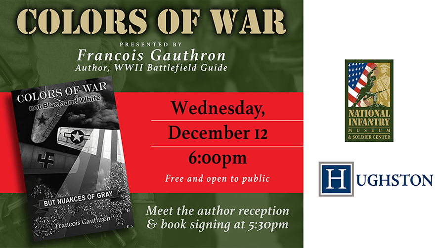 Colors of War Lecture Series