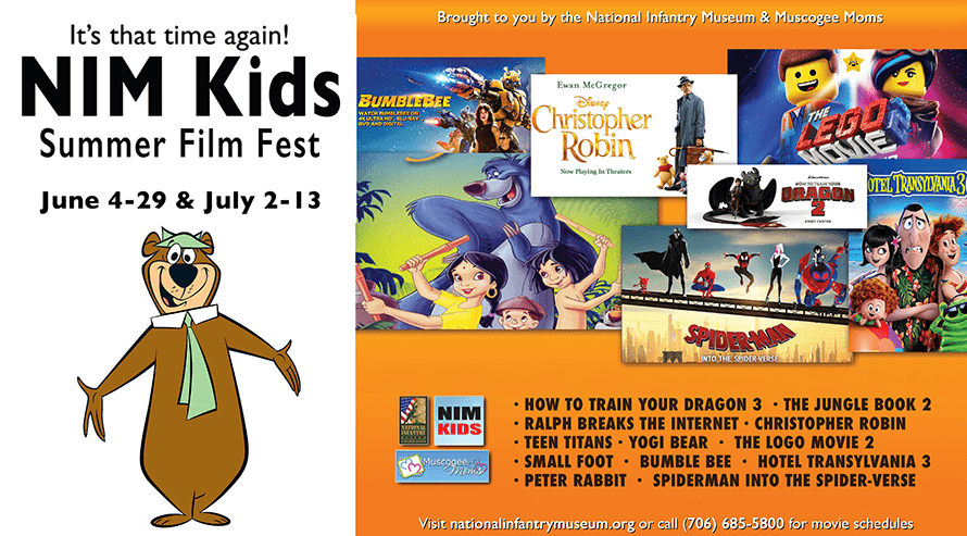 NIM Kids Free Summer Film Fest