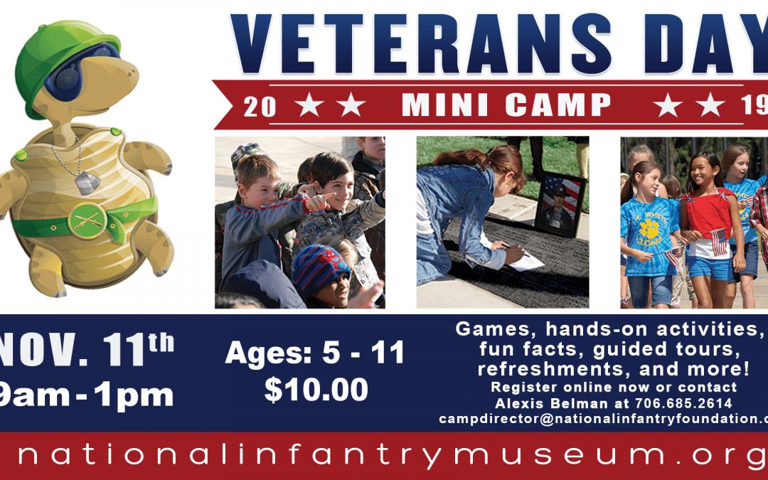NIM Kids Veterans Day Mini Camp